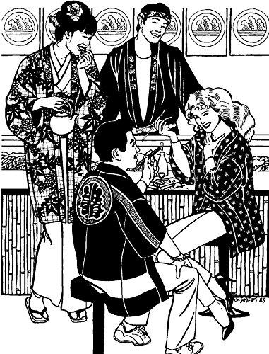 Folkwear Japanese Kimono #113 Yukata Dress Coat Robe Obi Sash Japan Sewing Pattern Pattern Only folkwear113