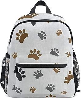 Mini Backpack Animal Dog Paw School Bag Daypack Lightweight Small