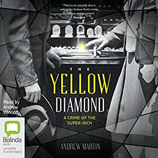 The Yellow Diamond                   By:                                                                                                                                 Andrew Martin                               Narrated by:                                                                                                                                 Andrew Wincott                      Length: 9 hrs and 53 mins     5 ratings     Overall 2.8