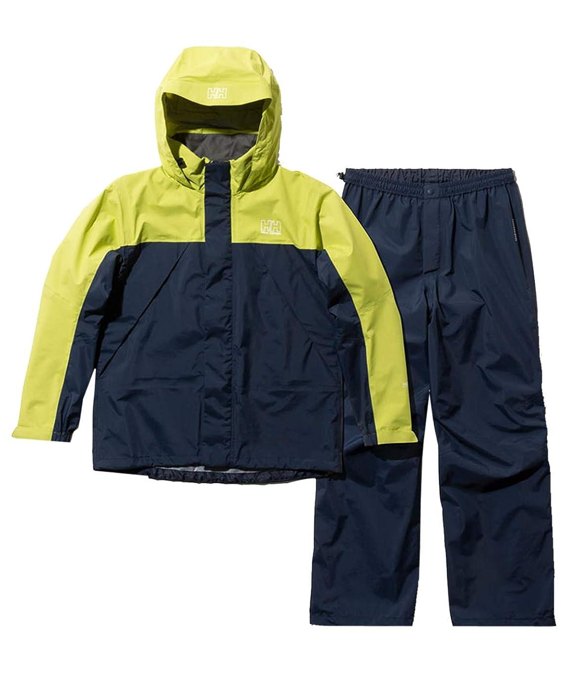 機会望遠鏡メディア[ヘリーハンセン] レディース ヘリ―レインスーツ Helly Rain Suit イエローグリーン HOE11900 YG WS