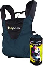 Bitybean UltraCompact Breathable Baby Carrier for Travel and Use in Pool and Ocean - Blue Berry Hood Included!