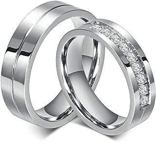 Amazon.es: anillos de compromiso - Hombre: Joyería