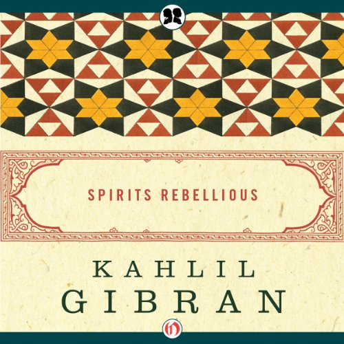 Spirits Rebellious audiobook cover art