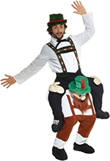 Morph Novelty Piggy Back Funny Piggyback Unisex Costume - With Stuff Your Own Legs