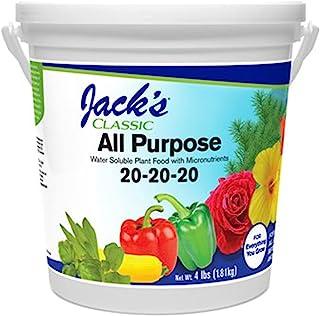 J R Peters Inc (52064) Jacks Classic No.4 20-20-20 All کودهای هدف