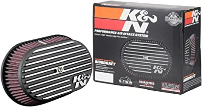 K&N Air Intake System: Air Cleaner Kit for Harley Davidson 2008 - 2017 Touring , Softail Models 96CI, 103CI, Road Glide, Softail, Street Glide, Road King RK-3952