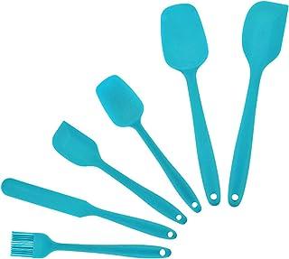 مجموعة أدوات للخبز مكونة من 6 قطع من ديكديل، مجموعة معالف سبونولا مسطحة، مجموعة أدوات المطبخ من السليكون، مقاومة للحرارة، ...