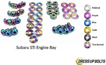 Neo Burned Dress Up Bolt Kit for 2011-2014 Subaru Impreza WRX & STI (Engine Bay)