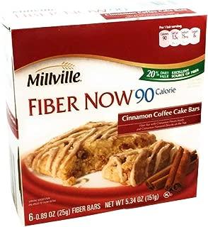 millville fiber now cinnamon coffee cake