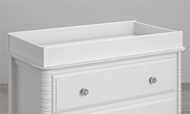 Little Seeds Rowan Valley Changing Table Topper, Painted White