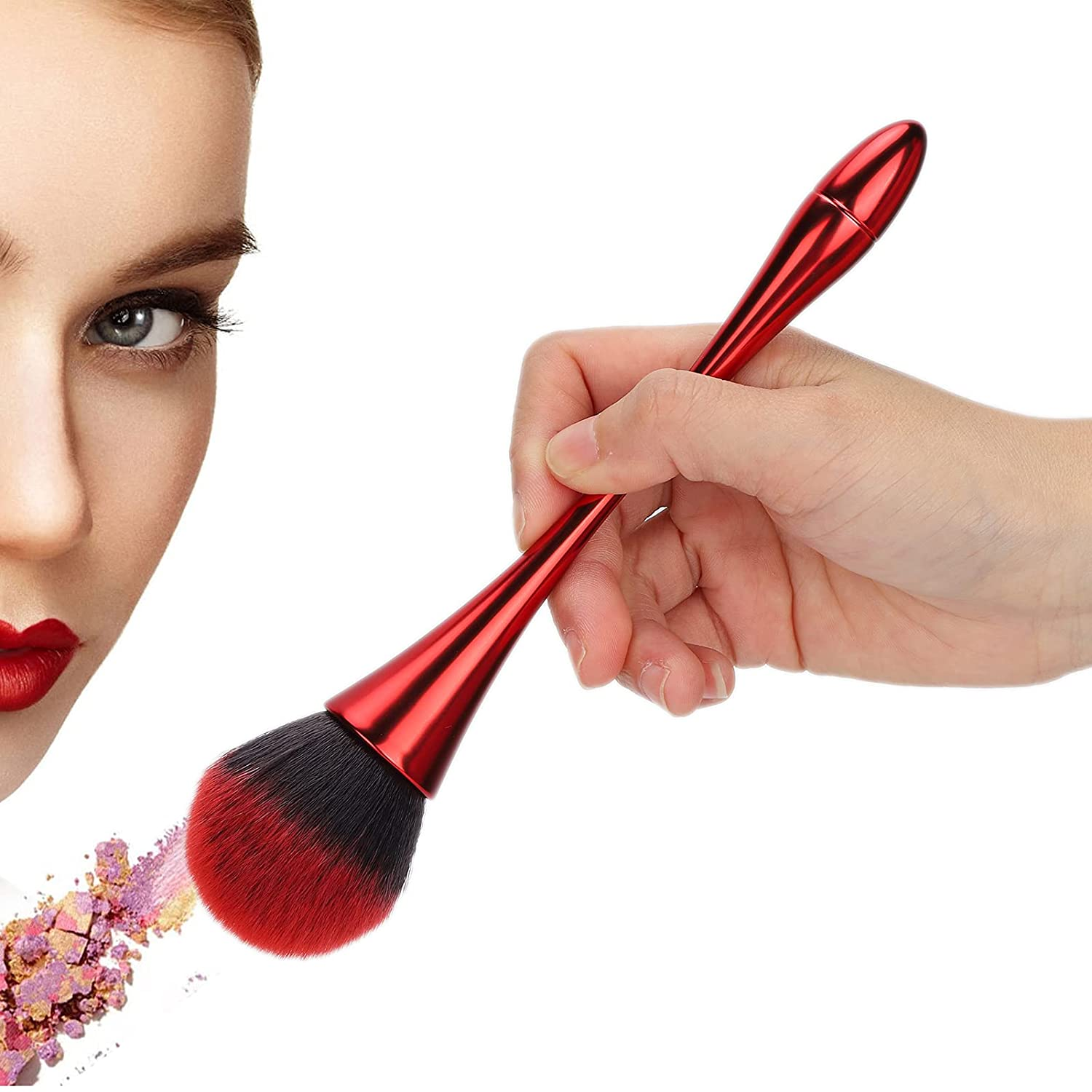 Powder Foundation Brush Portable Max 75% OFF Soft Synthetic Makeup Ranking TOP14 Si