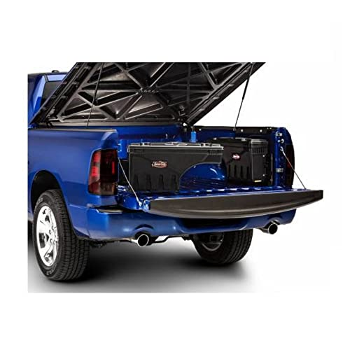 UNDERCOVER SC300D SC300P Set of Black Driver and Passenger Side Swing Case Storage Boxes for Dodge Ram 1500