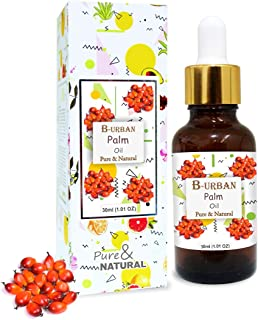 B-URBAN Palm Oil 100% Natural Pure Undiluted Uncut Carrier Oil 30ml