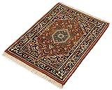Lifetex.eu Teppich Bidjar ca. 60 x 90 cm Rot handgeknüpft Schurwolle Klassisch hochwertiger Teppich - 2