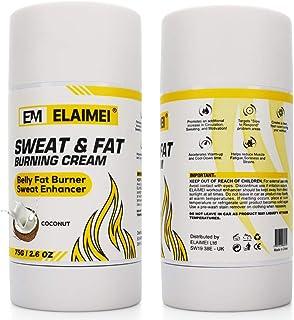 Coconut Workout Enhancer Gel, Fat Burning Cream for Belly, Slimming Sweat Cream for Men Women, Roll-On Stick