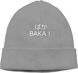 BAKA In Japanese! Good Word To Know Beanie Hat Snapback Men And Women Winter Cap