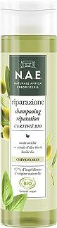 N.A.E. - Shampooing Cheveux Secs - Certifié Bio - Extraits d'Olive Bio et de Basilic Bio - Formule Vegan - 97 % d'ingrédie...