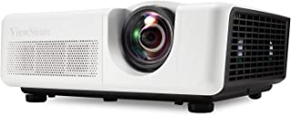 ViewSonic LS625W 3200 Lumens DLP WXGA Short Throw Projector with Horizontal and Vertical Keystone WXGA Fixed Zoom