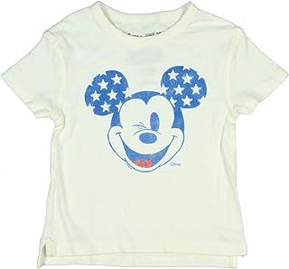 Disney X Junk Food Little Kids 's Mickey Mouse Americana Wink Camiseta