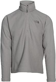 The North Face Men's SDS Fleece 1/2 Zip,Moon Mist Grey,US XL