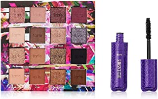 tarte Glamazon 2 Piece Natural Eye-shadow &Deluxe Size Lights Camera Lashes Mascara