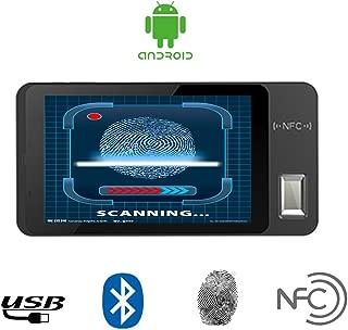 HFSECURITY Free SDK Android Tablet with Fingerprint Scanner NFC Card Reader for Time Attendance HR Management