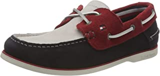Tommy Hilfiger Classic Suede Boat Shoe, Chaussure Bateau Homme