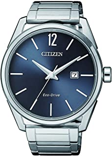 CITIZEN Mens Solar Powered Watch, Analog Display and Solid Stainless Steel Strap - BM7411-83H
