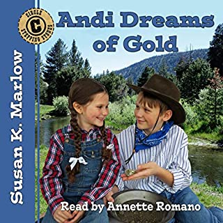 Andi Dreams of Gold (Circle C Stepping Stones) audiobook cover art