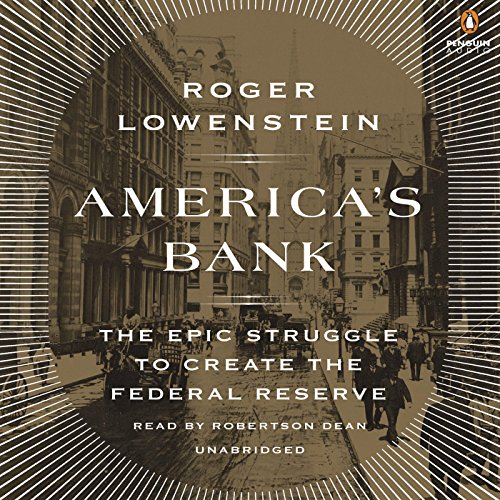 America's Bank audiobook cover art