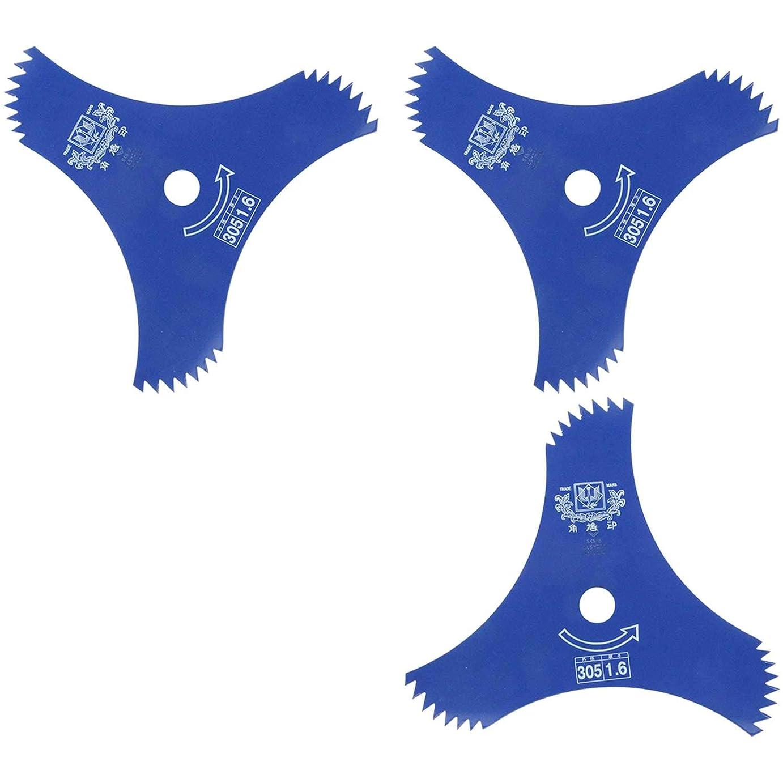半導体であること実際ツムラ 山林用改良3枚刃 荒目 ブルー 305mm×1.6mm×3P 1153 (まとめ買い3個セット)