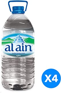 Al Ain water, 5 Liter 20% OFF- Pack of 4