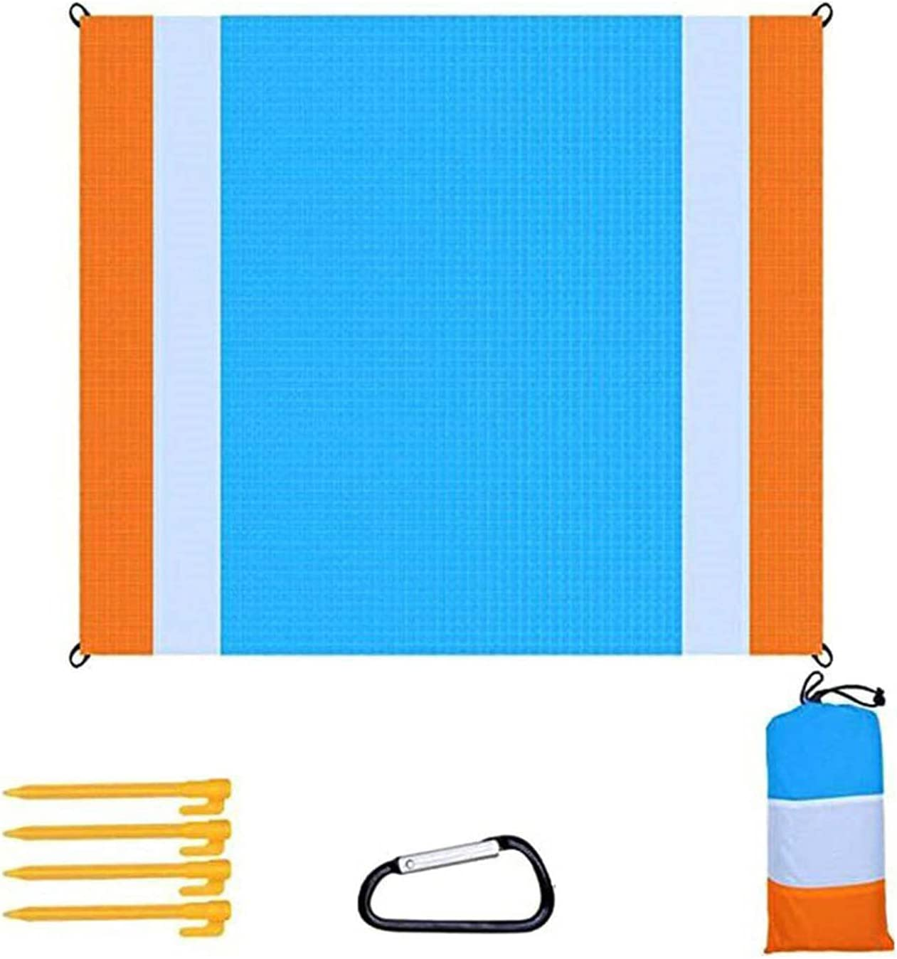 Sales of SALE 4 years warranty items from new works SHUAN Large Beach Mat and Waterproof Sand-Proof Polyester