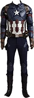 Superhero Captain Cosplay Costume Outfits Deluxe Halloween Adult Full Set Suit
