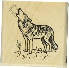 Stamps by Impression ST 0668a Wolf Rubber Stamp
