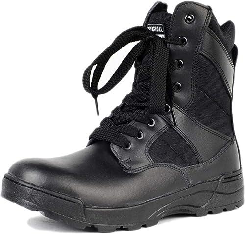botas Hombre High Top Martin botas Militares Chukka botas De Combate Zapaños para Caminar botas De Nieve botas De Trabaño botas con Cordones