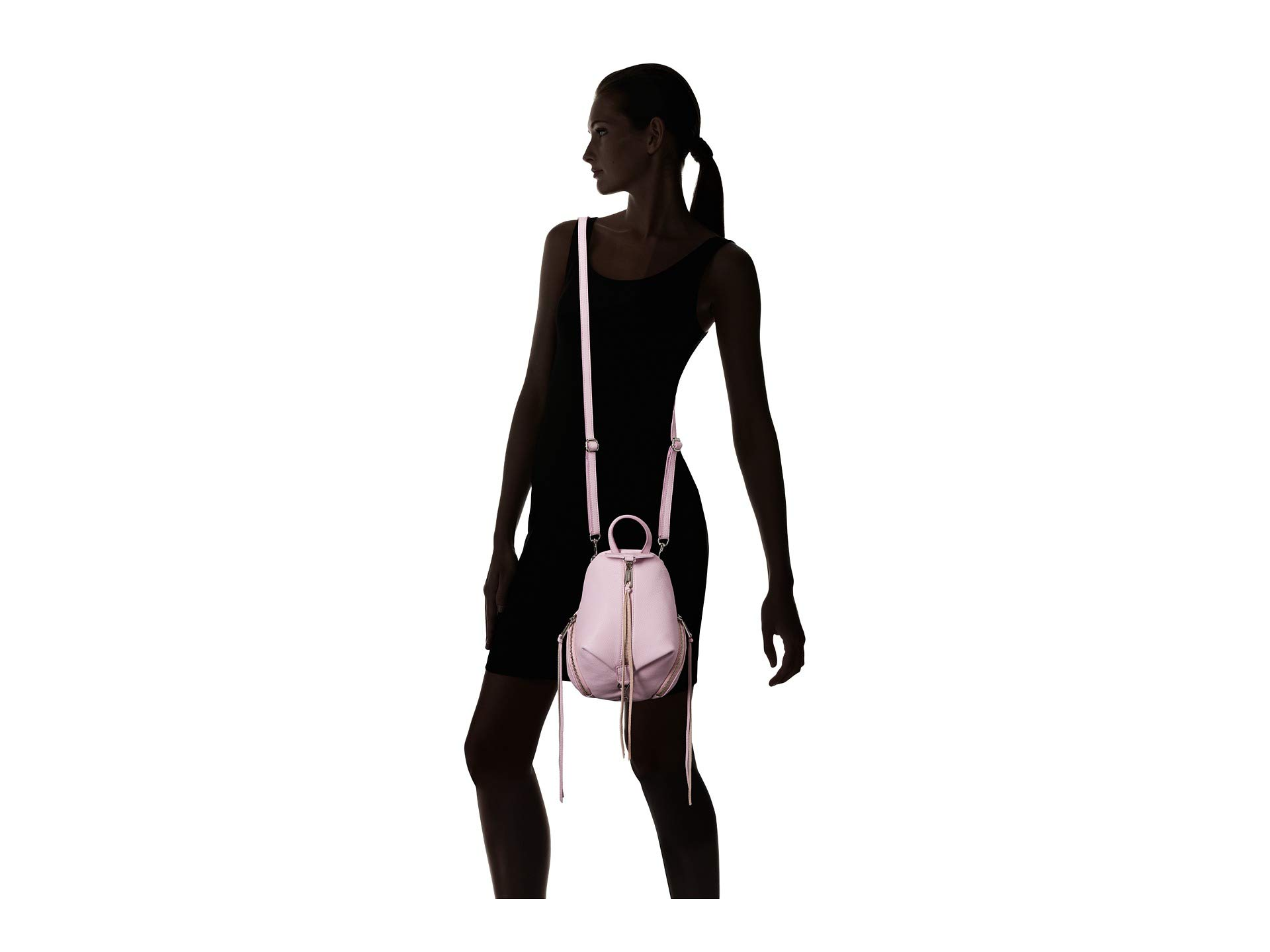 Rebecca Minkoff Julian Mini Orchid Light Convertible Backpack aHURBF4waq