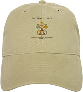 CafePress The Catholic Church Cap Baseball Cap