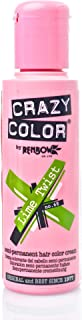 Crazy Color Semi-Permanent Hair Dye - Lime Twist