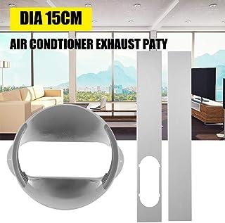 SOWLFE Kit de ventilación de Puerta corrediza de Aire Acondicionado portátil - Adaptador de Ventana (1PC) o Placa de Kit de Ventana (2PCS) | Universal para Aire Acondicionado portátil
