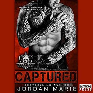 Captured audiobook cover art