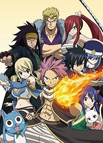 Poster Anime Fairy Tail - High Grade Laminated 17x13
