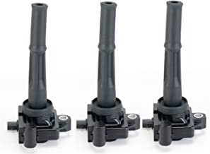 Ignition Coil Pack Set of 3 - Coil Pack Fits Toyota Tacoma, 4Runner, Tundra, T100 3.4L V6 Models - Replaces Part 90919-02212 - Models Years 95, 96, 97, 98, 99, 2000, 2001, 2002, 2003, 2004