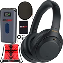 Sony WH-1000XM4 Wireless Industry Leading Noise Cancelling Over-Ear Headphones with Mic for Hands Free Calling and Alexa, ...