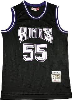 KKSY Herren Trikots Kings #55 Williams Basketball Trikots Retro Atmungsaktive Weste