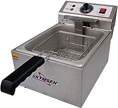 Fritadeira Elétrica Inox 1 Cuba 5L FE 10N - Skymsen - 110v