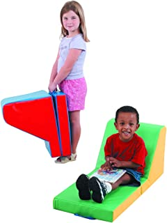 Children's Factory Cozy Time Loungers - Set of 2 Classroom Furniture (CF349-018)