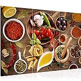 Runa Art Küche - Gewürze Bild Wandbilder Wohnzimmer XXL