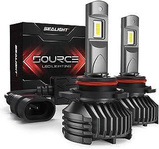 SEALIGHT 9005 LED Headlight Bulbs, HB3 LED Headlight Bulb, High Beam, 12,000 Lumens High Brightness, 6000K Cool White, S3 Series
