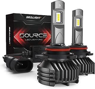 SEALIGHT 9006/HB4 LED Headlight Bulbs Low Beam 12,000 Lumen High Power 6000K Xenon S3 Series